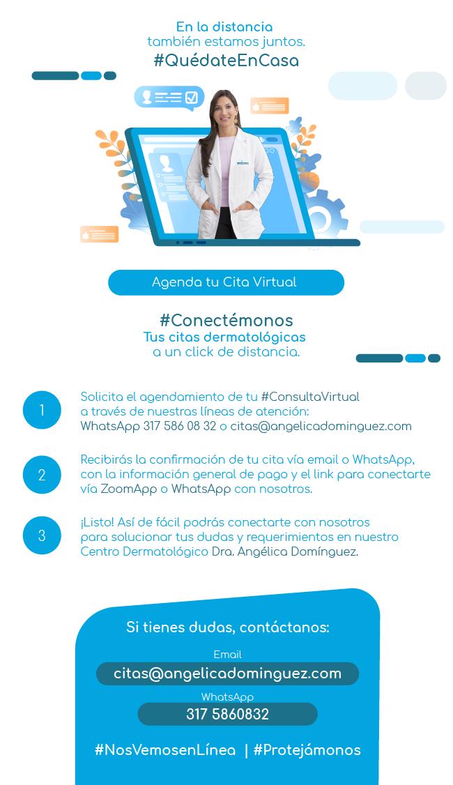 Citas Virtuales Dr. Angélica Domínguez